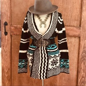 Boho Cardigan Sweater